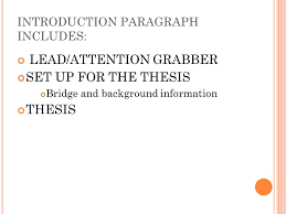argument essay writing introductions it is true that the first  introduction paragraph includes leadattention grabber set up for the thesis bridge and background