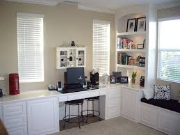 tranquil home office decor ideas built office furniture