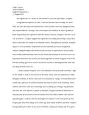 pages Frederick Douglass Eng  Essay  FINAL PAPER Course Hero