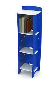 legare kids furniture 3 shelf bookcase blue and white blue kids furniture