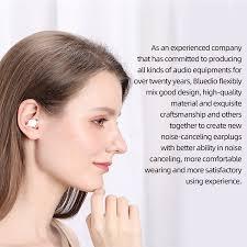 <b>Bluedio NE Silicone Ear</b> Plugs -40dB Noise Reduction Sound ...