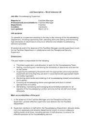 resume description for receptionist the best s associate job housekeeper job duties housekeeping supervisor job description gym receptionist job description resume hotel receptionist job description