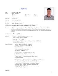 medical technologist resume format resume format  rad tech