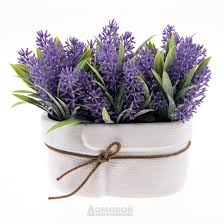 <b>Растение искусственное</b> лаванда h15см фиолетовый ...
