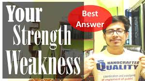 what are your strengths and weaknesses interview question for what are your strengths and weaknesses interview question for freshers