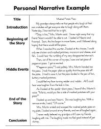 cover letter narrative essay example narrative essay example pdf
