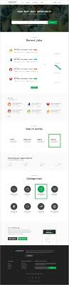best ideas about portal website ui design food routejob job board psd template