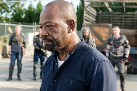 the walking dead season episode bury me here is a the look of a man who knows he won t get this much screen time again until the finale gene page amc
