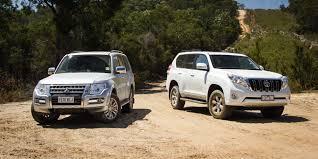 Toyota Land Cruiser Prado Toyota Landcruiser Prado Altitude V Mitsubishi Pajero Gls
