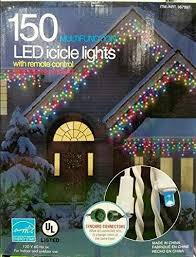 Energy Smart <b>Icicle</b> LED Lights, 150 Count with <b>remote control</b>