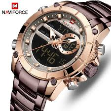 New NAVIFORCE <b>Top Luxury Brand</b> Men Watch Quartz Male Clock ...