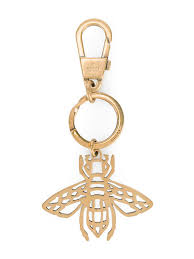 Gucci <b>Bee</b> Embellished Keychain - Farfetch