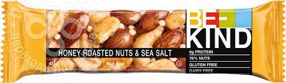 Купить <b>Ореховый батончик BE-Kind</b> с медом и морской солью 40г ...