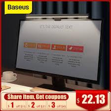 <b>Baseus</b> Computer Light Desk Lamp Screen Light Laptop <b>USB</b> Lamp ...