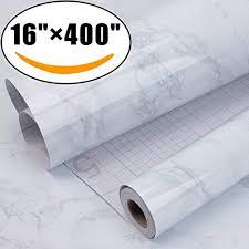Marble <b>Self Adhesive</b> Paper 16 inch x 400 inch - Granite Gray/White ...