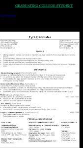 sample resume for graduating college student back to stellar sample resume for graduating college sample resume