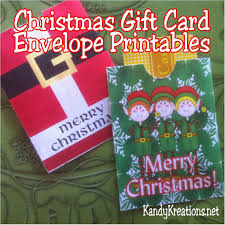 christmas gift card envelope printables kandy kreations everyone loves to receive gift cards at christmas but they aren t much fun