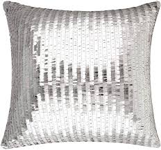 Amazon.com: Merrycolor <b>Sequin</b> Throw Pillow Cover for Couch Sofa ...