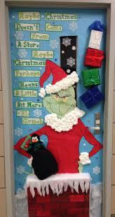 cristmas door decorating aaron office door decorated