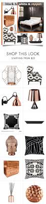 white master bathroom featuring ann sacks lux quotblack amp white amp copper bedroomquot by collagette on polyvore f