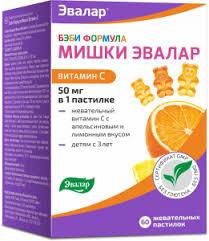 Детский <b>витамин</b> С жевательные <b>мишки</b>, <b>Бэби Формула</b> Эвалар ...