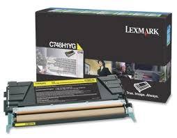 Купить <b>Картридж</b> Lexmark C748H1YG по выгодной цене на ...