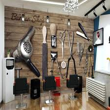 <b>Milofi manufacturers custom</b> 3D retro wood barber shop tools ...