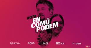 Resultado de imagen de cartel electoral podemos en cataluña