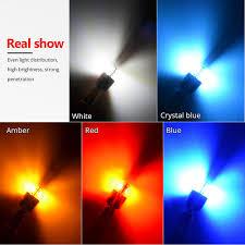 Online Shop NAO <b>T10 LED 10pcs W5W LED</b> Bulb 3030 Car Light ...