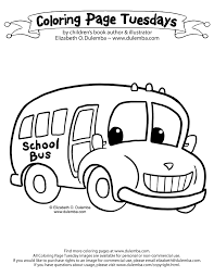 Small Picture dulemba Coloring Page Tuesday School Bus