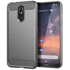 <b>leeHUR Carbon Fiber</b> TPU <b>Phone</b> Case For Nokia 3.2 - gearbest ...
