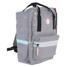<b>Рюкзак Vadobag Milky</b> Kiss Patch Perfect серый (1001996363 ...
