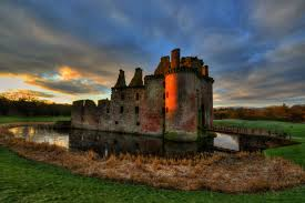 Scottish castle.