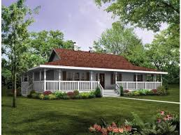 Eplans Farmhouse House Plan   Wraparound Porch to Capture    Eplans Farmhouse House Plan   Wraparound Porch to Capture Beautiful Views   Square Feet and Bedrooms from Eplans   House Plan Code HWEPL