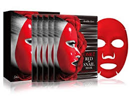 double dare OMG! Red + Snail Mask (5 Sheets): Beauty - Amazon.com