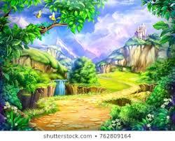 Fairy Tales <b>Flowers Castle</b> Images, Stock Photos & Vectors ...