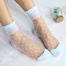 <b>2 Pairs</b>/<b>Lot</b> Ladies Japan Restoring <b>Style</b> Dots Lace Blink Socks ...