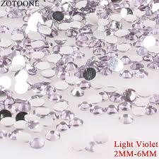<b>ZOTOONE 2</b>-6mm <b>1000Pcs</b> Resin Flat Back Colorful Sew On ...