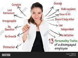 13 personality traits of disengaged employee human resources 13 personality traits of disengaged employee human resources concept