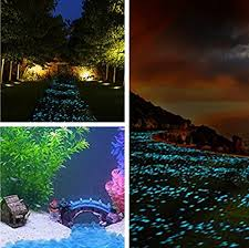 Walkway, ASIBT <b>500 Pcs Glow in</b> the Dark Stones,<b>Garden</b> Pebbles ...