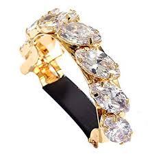 CHIMERA Metal Ponytail Clips Fashion Gold-plated ... - Amazon.com
