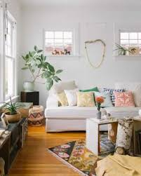 simplicity love the basket in the corner bohemian style living room