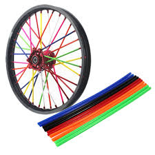 <b>72pcs</b> Universal Motorcycle Dirt <b>Bike Wheel Rim Spoke</b> Skins ...