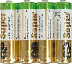 Купить AA <b>Батарейка GP Super Alkaline</b> 15ARS LR6 в интернет ...
