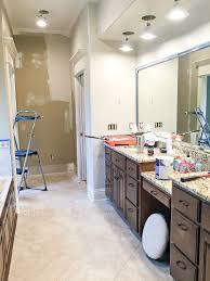 bathroom refresh: master bathroom in progress  img  master bathroom in progress