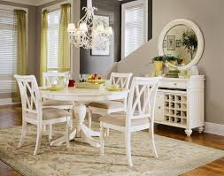 dining table white chairs