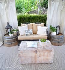 cozy high patio chair