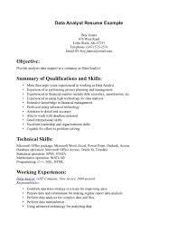 skill resume data analyst resume what does a data analyst skill resume data analyst resume example a data analyst resume example entry level data analyst