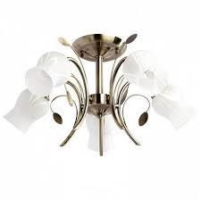 Потолочная <b>люстра MW</b>-<b>Light Флора 256018205</b> - купить в ...