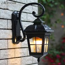 Illuminazione Ingresso Villa : Acquista allu ingrosso vintage illuminazione esterna da